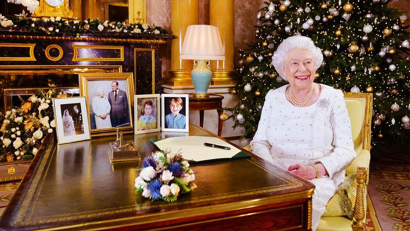Królowa Elżbieta II święta