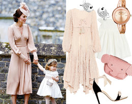 Moda dla mamy i córki: królewski look Kate i Charlotte!
