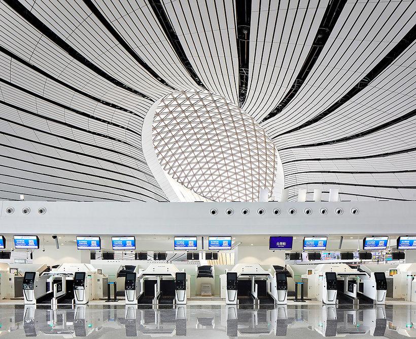 Lotnisko zaprojektowane przez Zahę Hadid otwarte w Pekinie