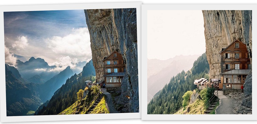 Magical hotel inSwitzerland