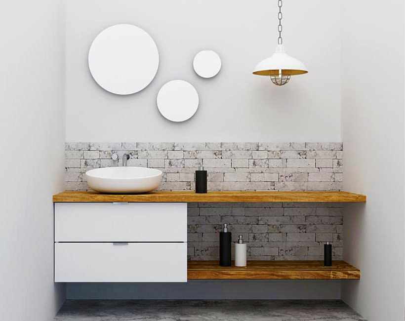 Mała łazienka - jak urządzić wnętrze?