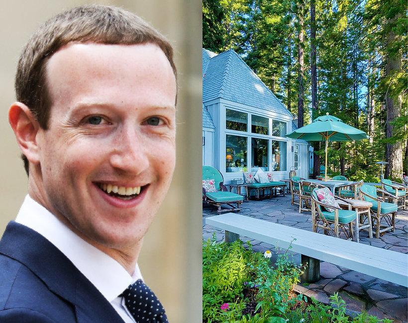 Mark Zuckerberg kupił posiadłość wartą 59 milionów dolarów