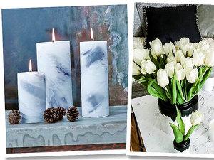 Marmur we wnętrzach - marmurowe dekoracje podbiły Instagram!