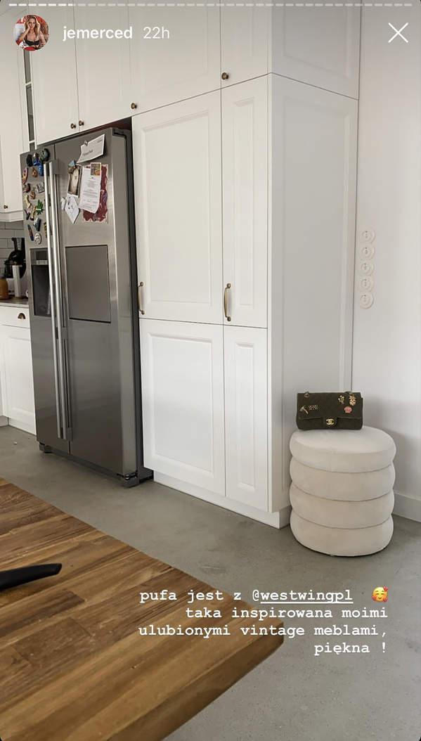 Mieszkanie Jessiki Mercedes - kuchnia