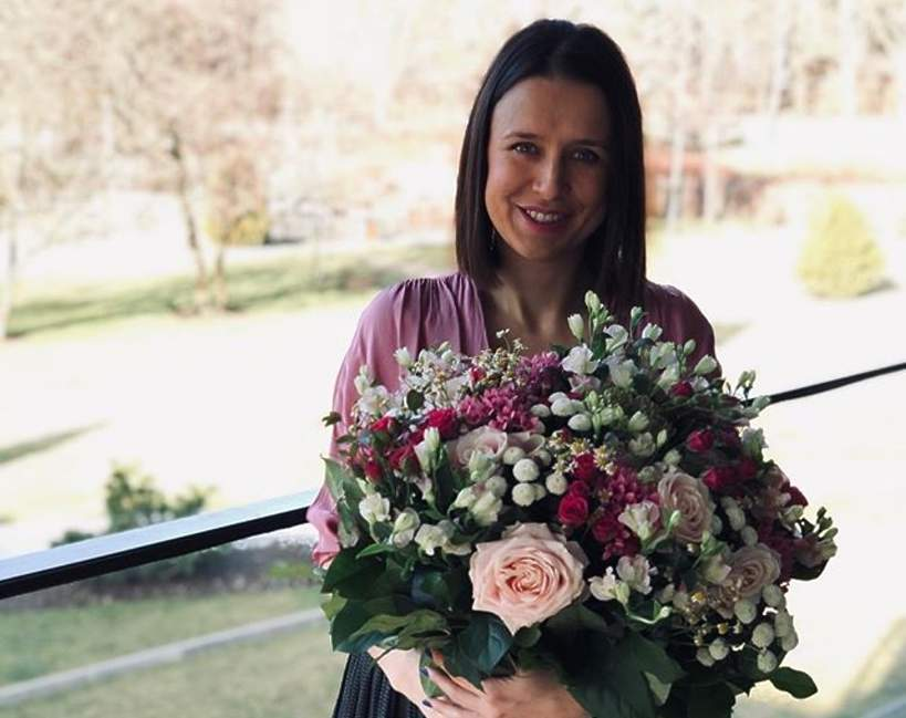 Milena Lewandowska w ciążowej sesji