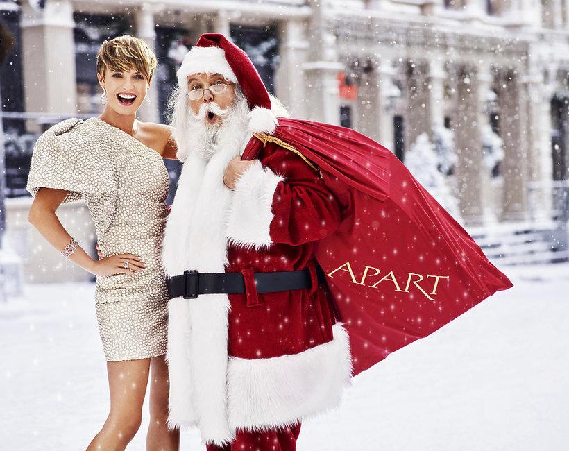 Świąteczna kampania markiAPART 2018