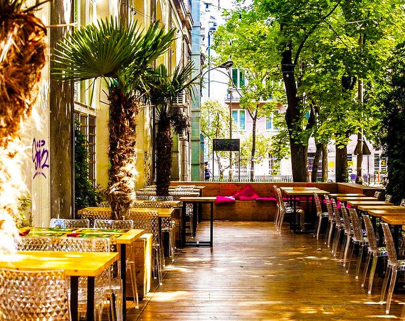 Najpiękniesze ogródki przy restauracjach