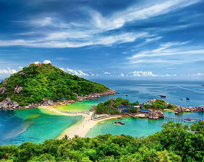 Najpiękniesze wyspy na które można dostać się pieszo