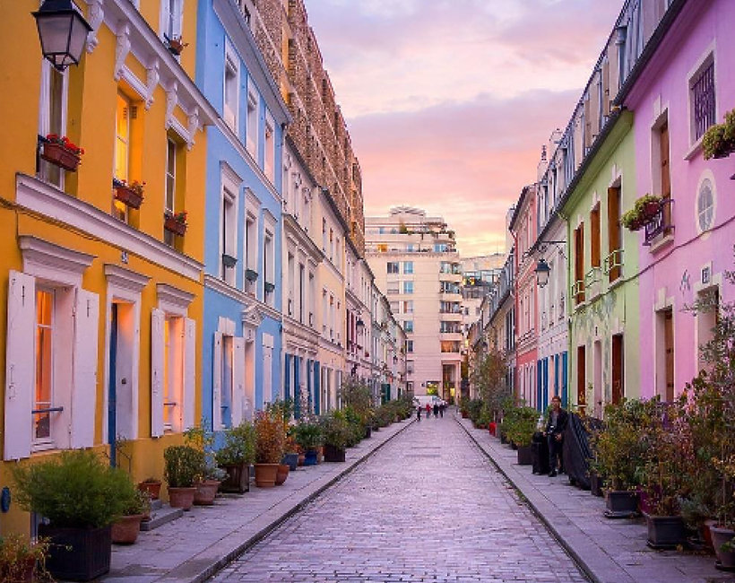Najpopularniejsza na Instagramie uliczka w Paryżu