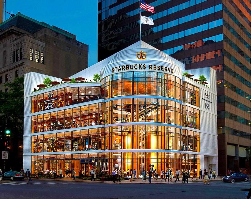 Największy Starbucks na świecie zostanie otwarty w Chicago