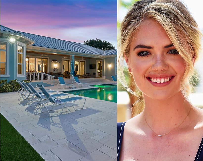 Nowy dom Kate Upton na Florydzie domy gwiazd