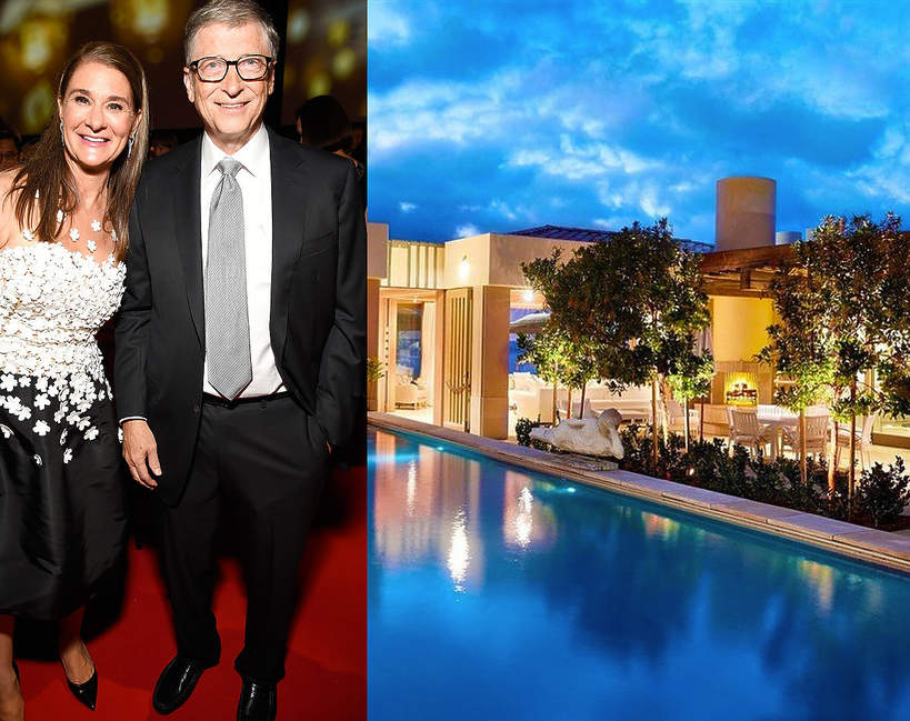 Nowy dom Melindy i Billa Gates