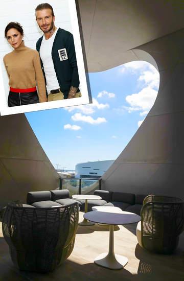 Penthouse Victorii i Davida Beckhamów w Miami
