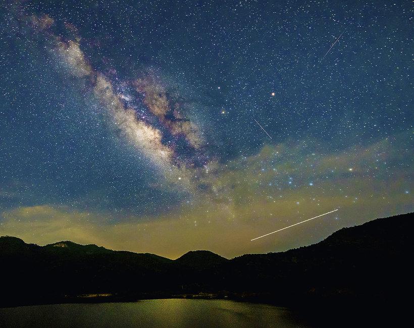 perseidy, noc spadających gwiazd