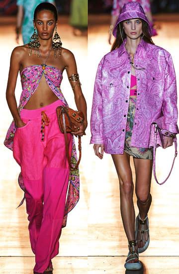 pokazy mody wiosna lato 2022 Etro trendy mediolan 1