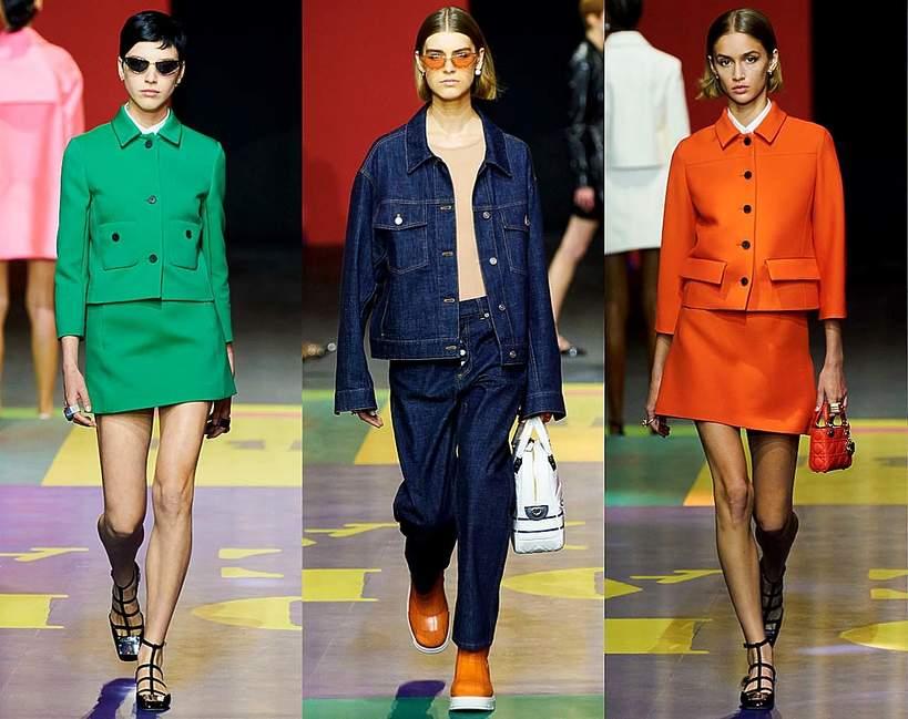 Pokazy mody wiosna lato 2022 kolekcje trendy moda Christian Dior 1