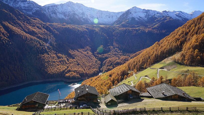 Południowy Tyrol, Val Senales, Maso Corto