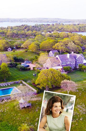 Posiadłość Martha's Vineyard, należąca niegdyś do Jackie Onasis, wystawiona na sprzedaż