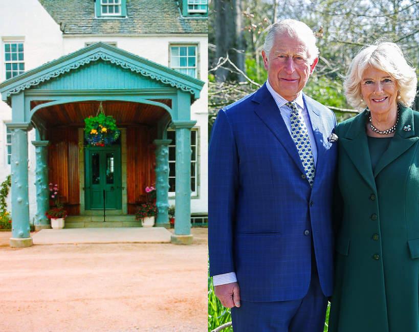 Posiadłość, w której książę Karol leczy się z zarażenia koronawirusem