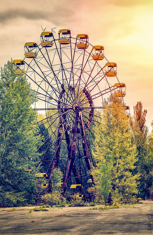 Prypeć, Czarnobyl