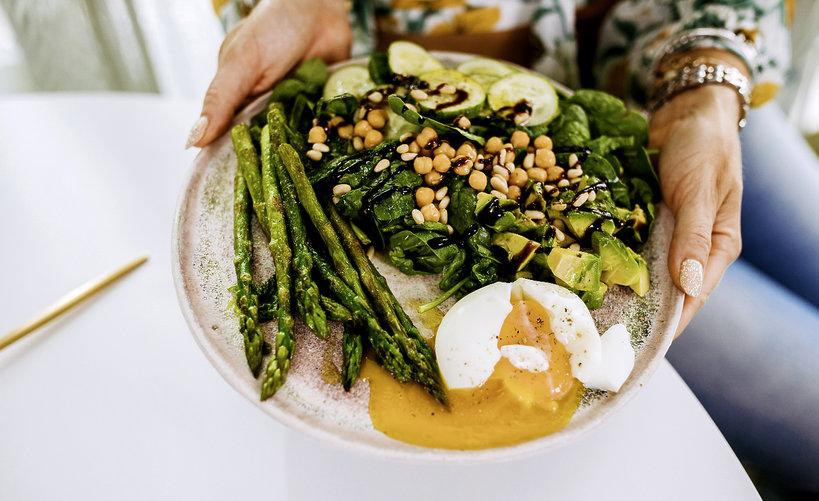 Przepis Ewy Szabatin na danie z zielonych warzyw