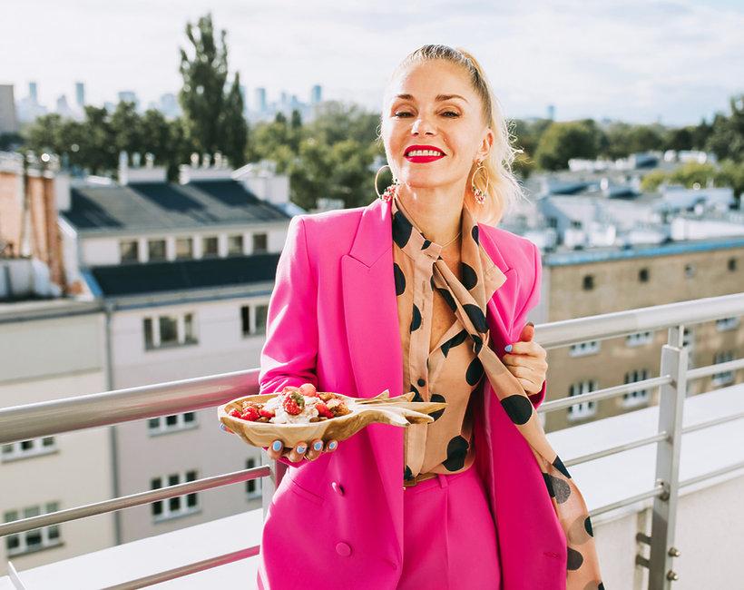 Przepis Ewy Szabatin na rozgrzewający deser
