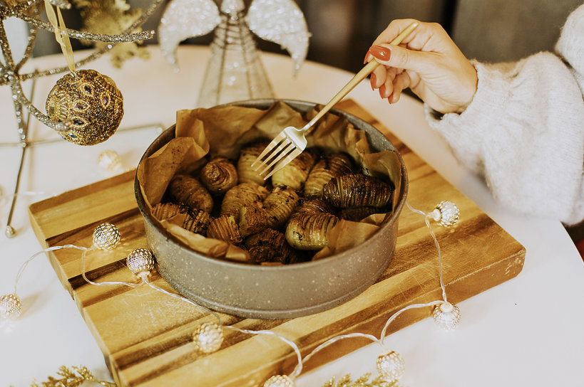 Przepis Ewy Szabatin na świąteczne ziemniaki do karpia