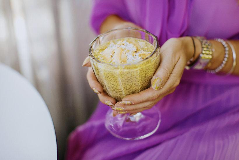 Przepis na cytrynowy pudding chia Ewa Szabatin