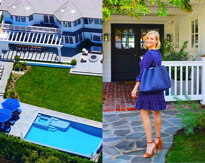 Reese Witherspoon sprzdała dom