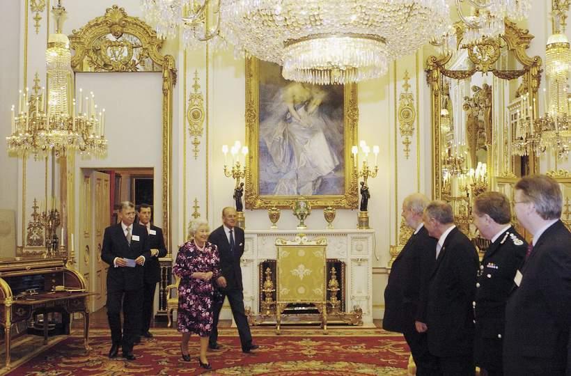 Remont pałacu Buckingham