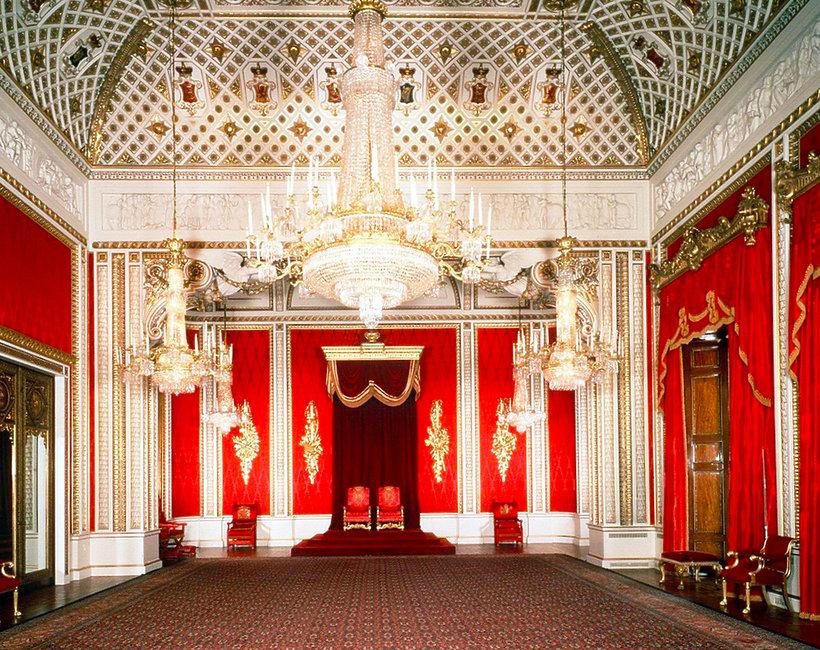 Renowacja pałacu Buckingham - prace trwają