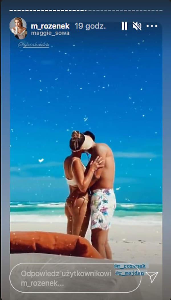 rozenek malgorzata radek majdan w meksyku na wakacjach zdjecia na plazy w bikini