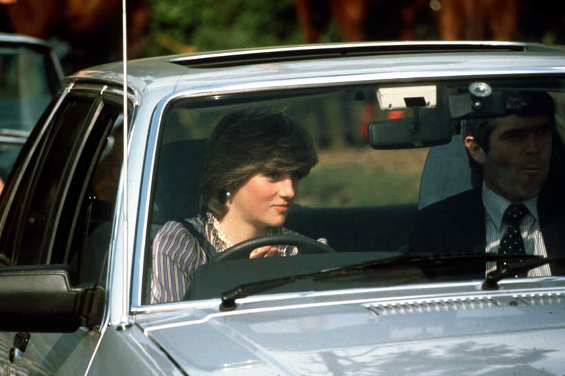 samochod księżnej Diany na sprzedaż wnetrze