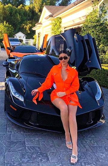 Samochody Kylie Jenner