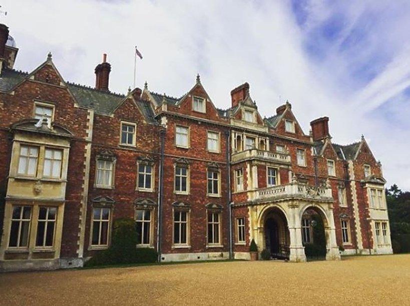 Sandringham House - zimowa rezydencja królowej Elżbiety II