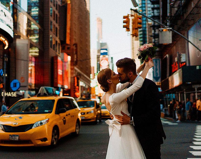 Ślub blogerki i instagramerki Charlize Mystery Karoliny Glinieckiej w Nowym Jorku