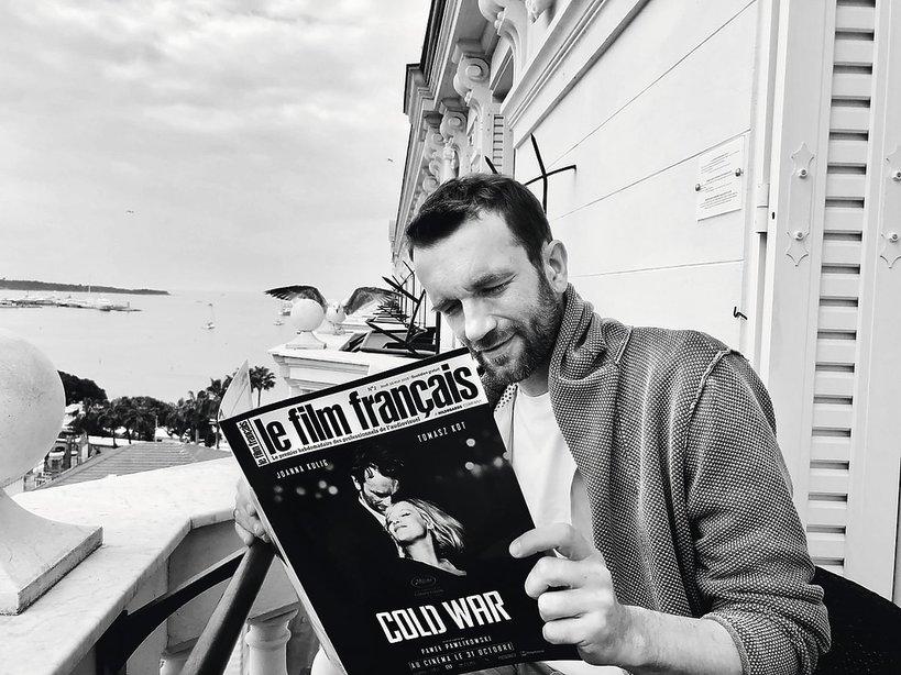 Tomasz Kot w Cannes