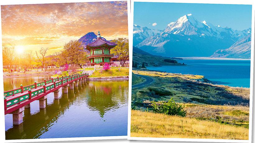 TOP 10 krajów, które warto odwiedzić w 2018 roku! Chile, Nowa Zelandia, Malta, Gruzja i…