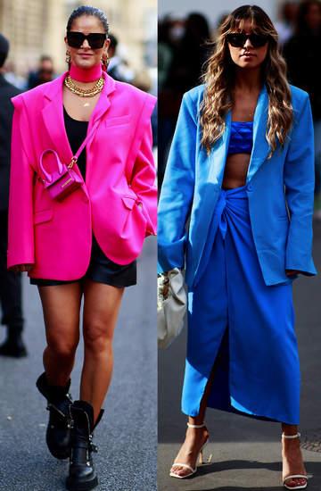 Trendy jesien zima 2021 2022 street style Paris Fashion Week moda uliczna paryski tydzien mody 21