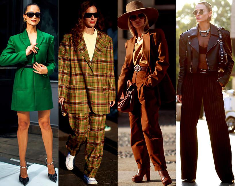 Trendy street style Mediolan - modne looki na jesien 2021 3