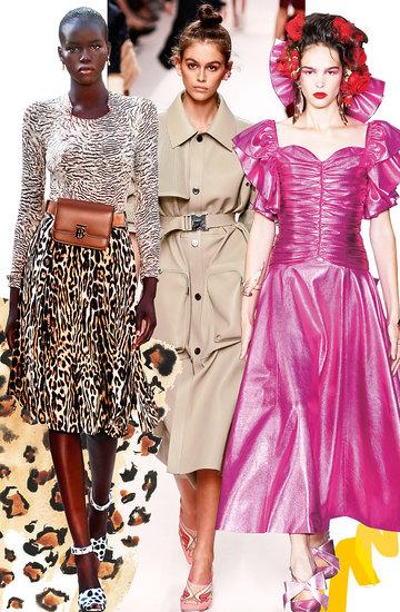 Trendy wiosna 2019 - wybiegi VIVA!Moda przewodnik po tendencjach w modzie
