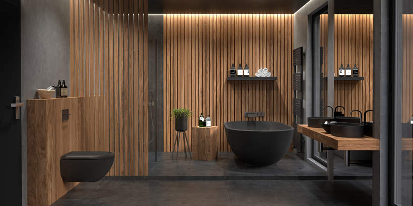 trendy-wnetrza-wiosna-2021-drewniane-meble-styl-design-co-wybrac-lazienka-drewniane-sciany-metal-2