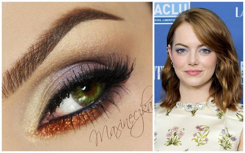Najlepszy Makijaż Dla Zielonych Oczu Inspirowany Stylem Gwiazd Vivapl