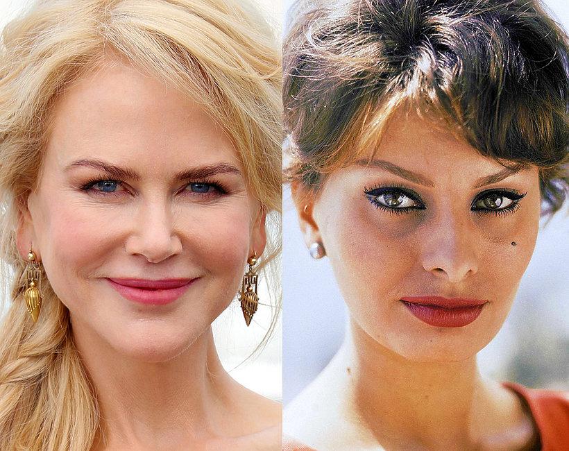 Cannes Nicole Kidman, Sophia Loren