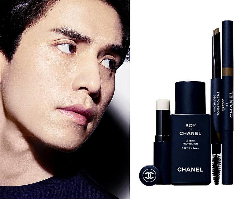 Chanel makijaż dla mężczyzn