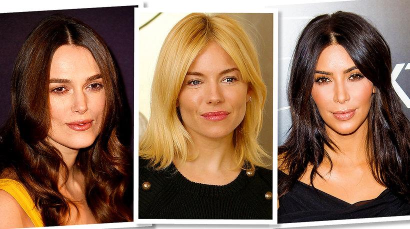 Curtain bangs - fryzura poprawiająca rysy twarzy