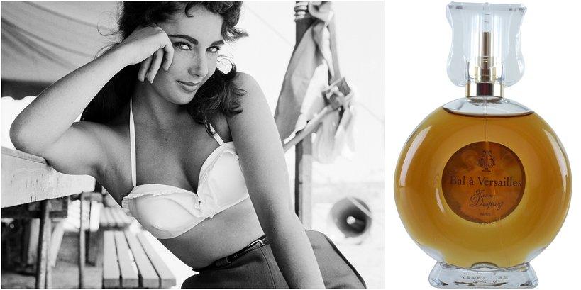 Elizabeth Taylor i jej perfumy