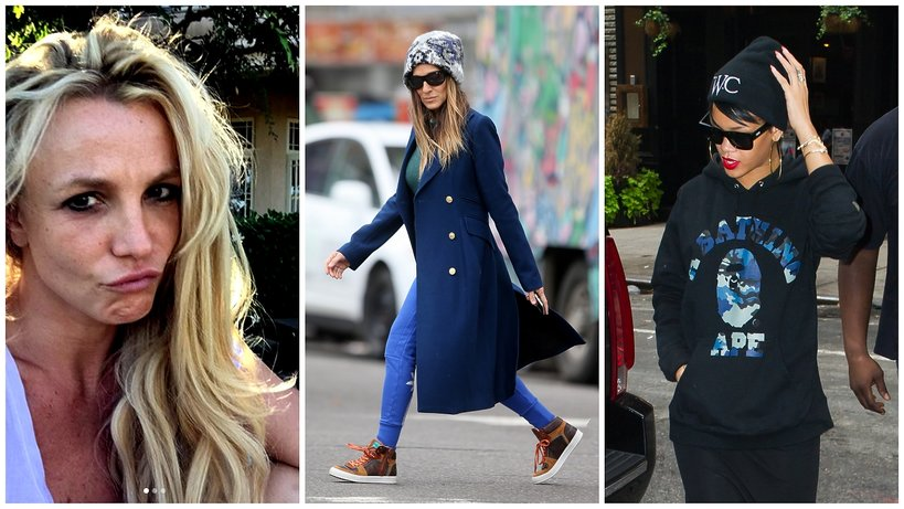 Britney Spears, Sarah Jessica Parker i Rihanna - bad hair day!