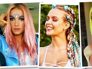 fryzury Coachella trendy