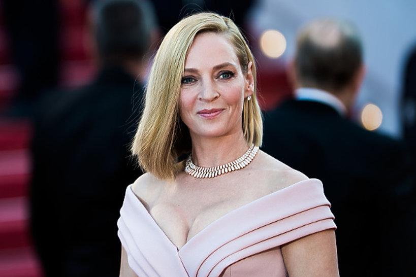 Uma Thurman w Cannes
